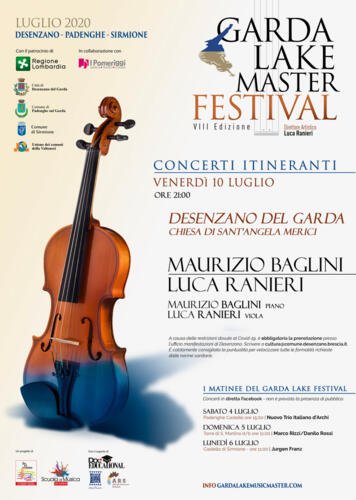 Garda Lake Master Festival Desenzano del Garda