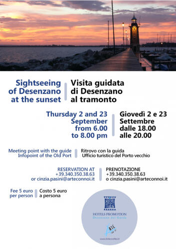 Visita guidata di Desenzano al tramonto