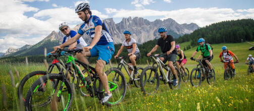 DOLOMITES IN MOUNTAIN BIKE