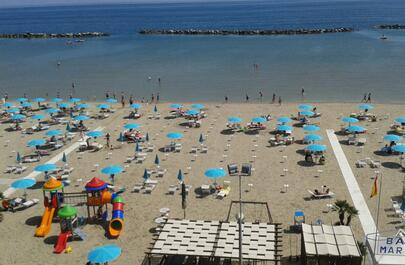 September: seaside hotel stay in Igea Marina