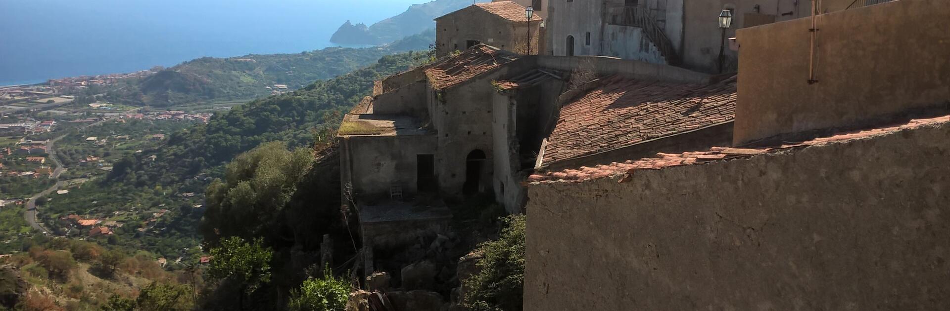 Savoca und Forza d'Agrò. Die Orte des Paten