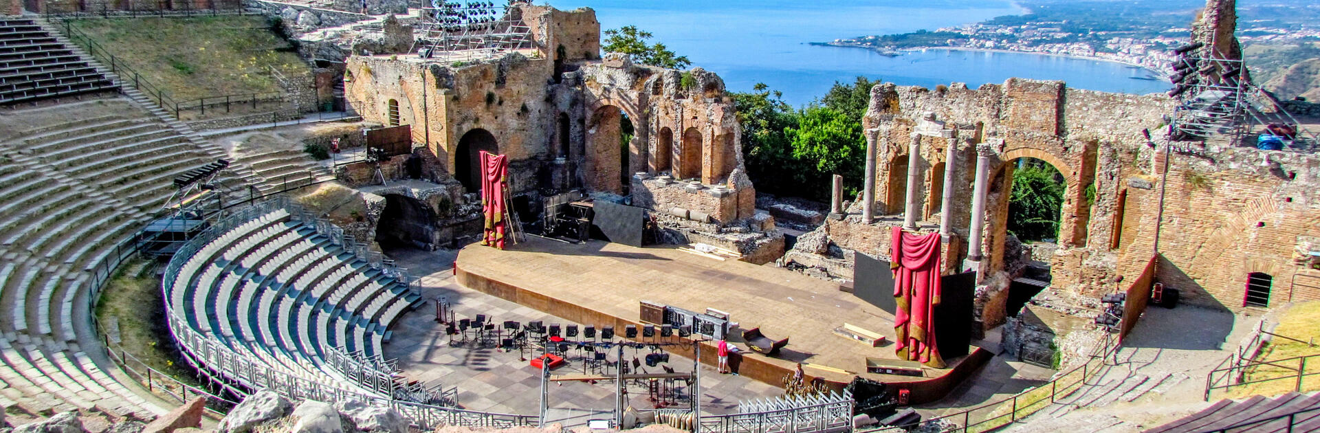 Taormina Arte 2020: cinema, theater, music, ballet