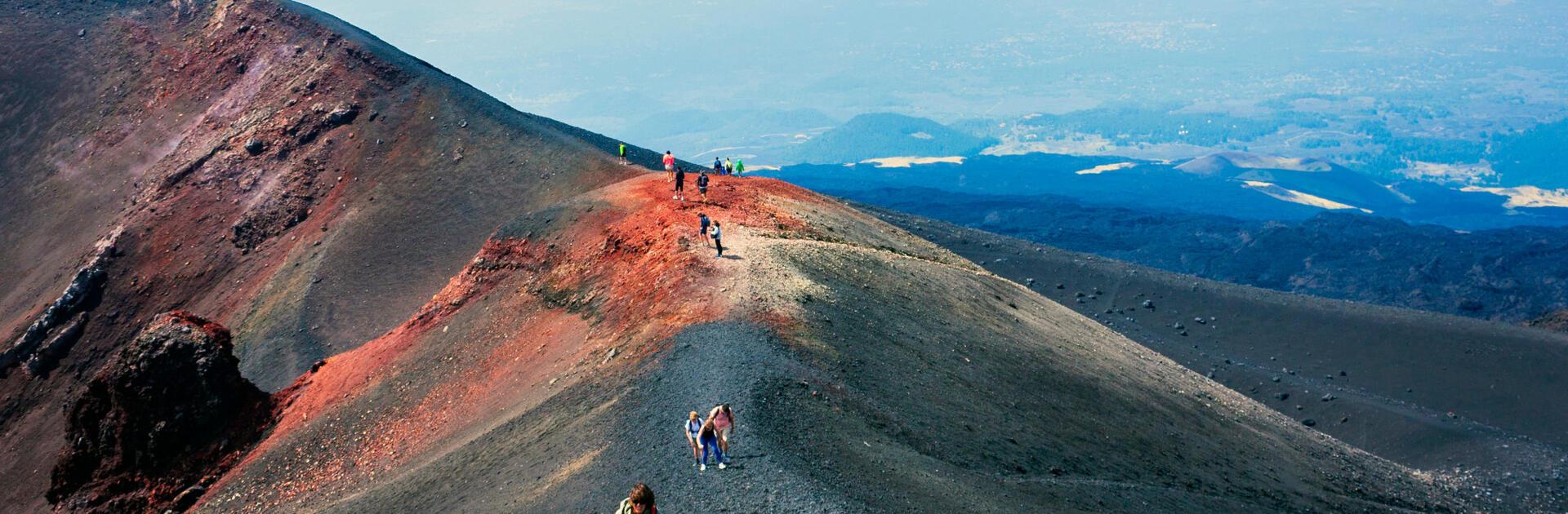 Le pendici dell'Etna