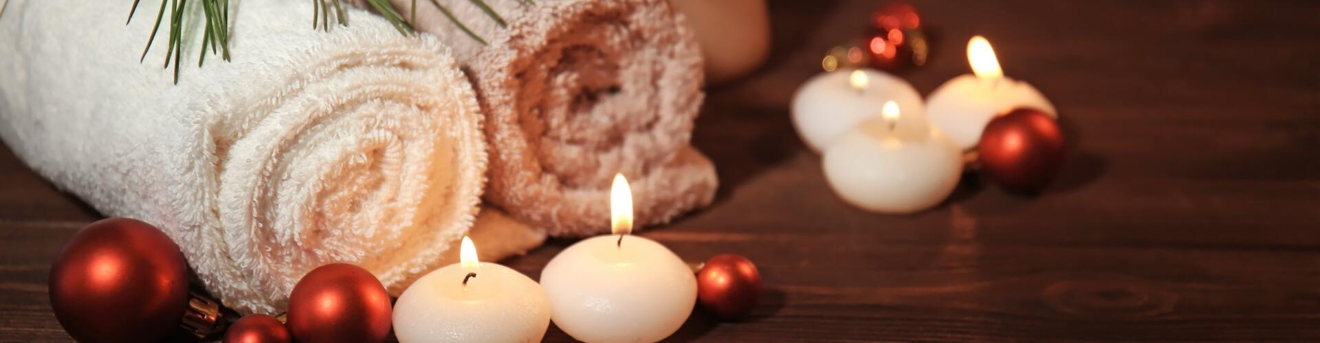 CHRISTMAS AT THE SPA: treatments and entries to the wellness centre are on offer