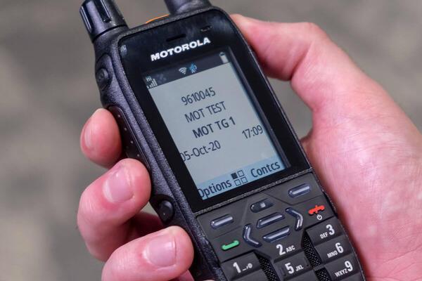 MXP600 è il nuovo terminale TETRA Motorola Solutions