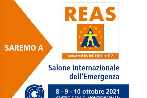 Sinora partecipa alla 20esima edizione del REAS, Salone internazionale dell'emergenza