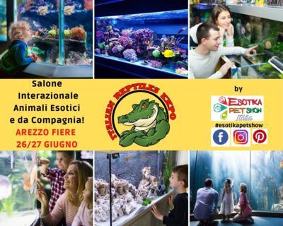 Fiera Arezzo Esotica Pet Show