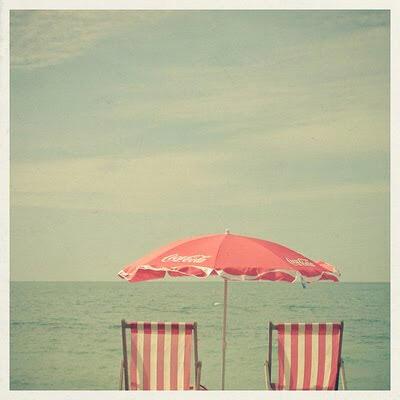 The beach in summer 2020