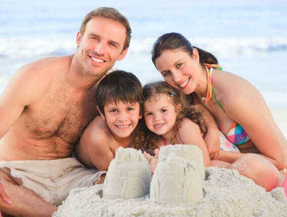 Super cheap offer August 2013 in Rimini: € 699.00 for the whole family!