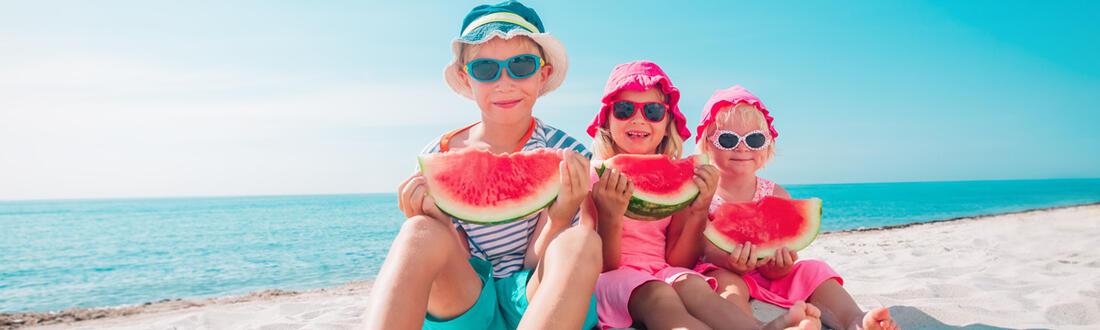 Enfants gratuits ou à prix réduit en Mai, Juin et Septembre