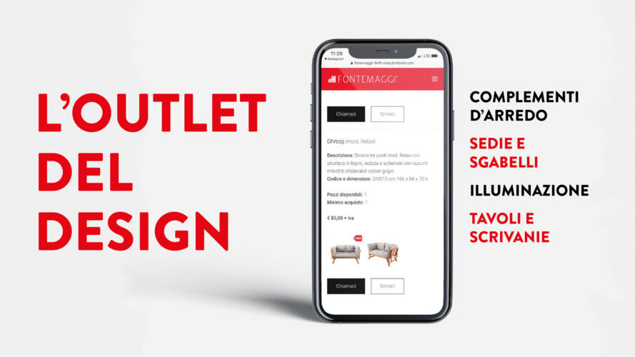 Thrift Shop: L'outlet del design secondo Fontemaggi
