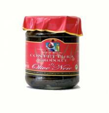Confettura dolce di olive nere