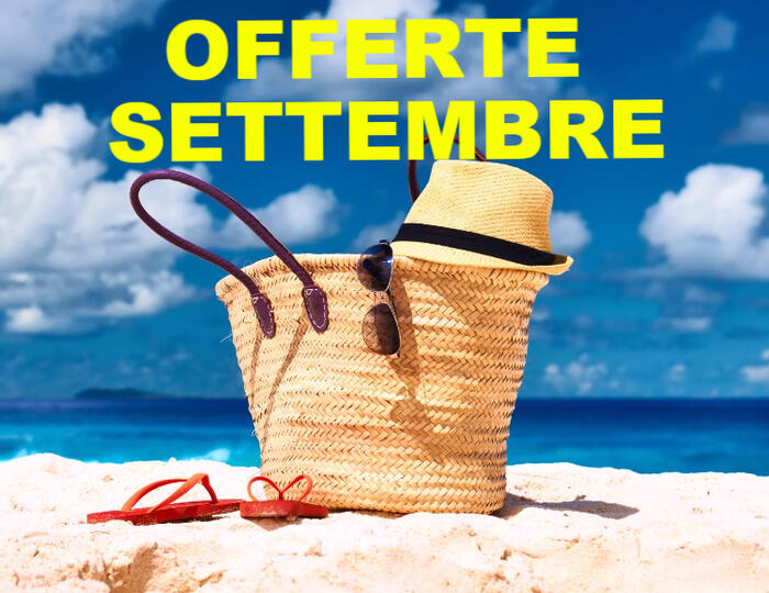 Offerta Last Second Week end Settembre!