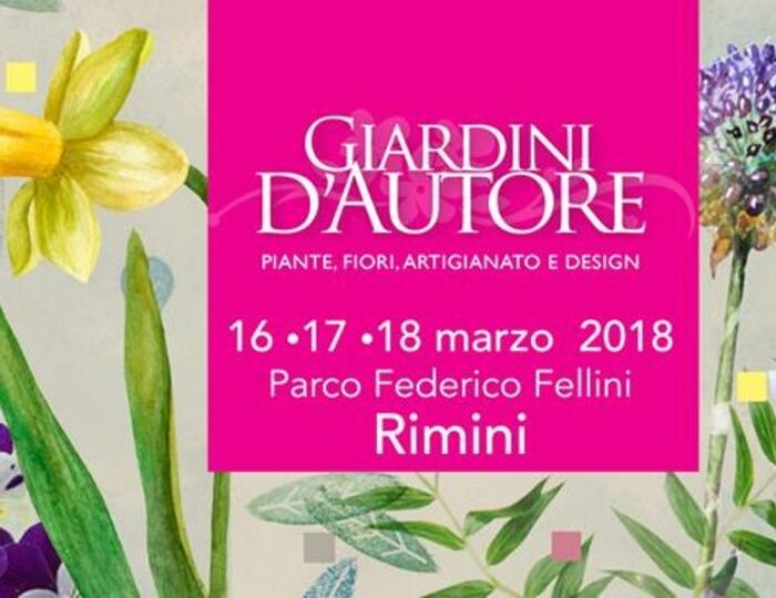 Giardini d'Autore a Rimini 2018: edizione Primavera
