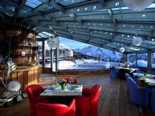 Torretta Lounge al tramonto