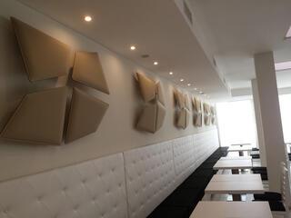 Albergo Igea Marina realizzato con pannelli fonoassorbenti Flap