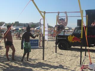 Calisthenics Beach Work Out - Fantini Club Cervia - 4-5 agosto 2018 - 01