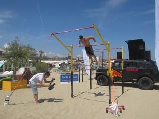 Calisthenics Beach Work Out - Fantini Club Cervia - 4-5 agosto 2018 - 02