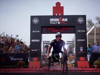 2° IRONMAN Italy Emilia Romagna Long Distance - Fantini Club Cervia - 22 settembre 2018 - Alex Zanardi 2