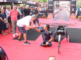 2° IRONMAN Italy Emilia Romagna Long Distance - Fantini Club Cervia - 22 settembre 2018 - Alex Zanardi 5