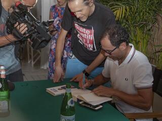 incontro con l'autore Davide Cassani al Fantini Club 009