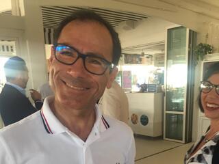 incontro con l'autore Davide Cassani al Fantini Club 008