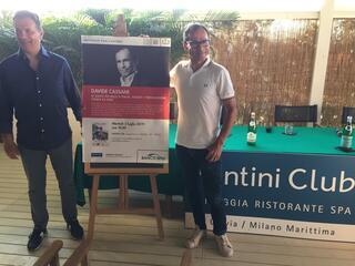 incontro con l'autore Davide Cassani al Fantini Club 017
