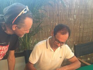 incontro con l'autore Davide Cassani al Fantini Club 018