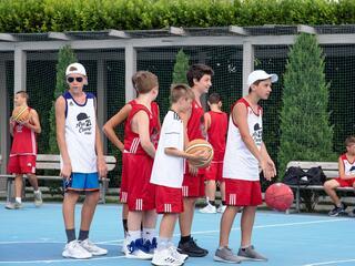 AraCamp il primo camp di basket con Pietro Aradori al Fantini Club 046