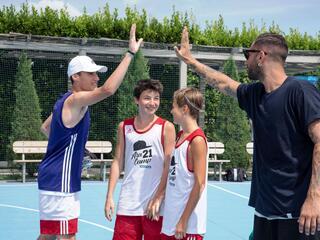 AraCamp il primo camp di basket con Pietro Aradori al Fantini Club 040
