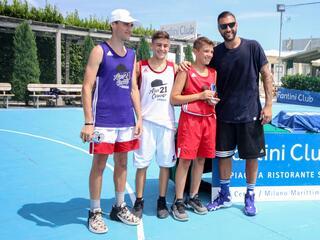 AraCamp il primo camp di basket con Pietro Aradori al Fantini Club 035