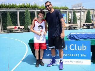 AraCamp il primo camp di basket con Pietro Aradori al Fantini Club 031
