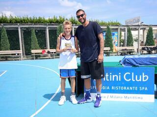 AraCamp il primo camp di basket con Pietro Aradori al Fantini Club 028