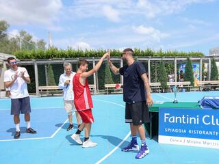 AraCamp il primo camp di basket con Pietro Aradori al Fantini Club 027