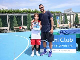 AraCamp il primo camp di basket con Pietro Aradori al Fantini Club 024