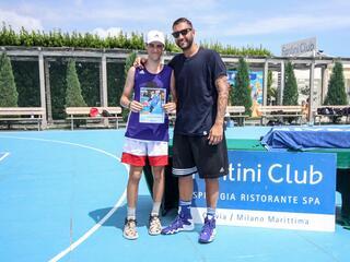 AraCamp il primo camp di basket con Pietro Aradori al Fantini Club 023