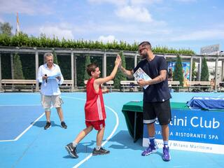 AraCamp il primo camp di basket con Pietro Aradori al Fantini Club 020