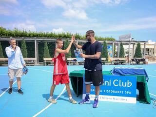 AraCamp il primo camp di basket con Pietro Aradori al Fantini Club 018