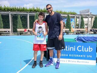 AraCamp il primo camp di basket con Pietro Aradori al Fantini Club 016