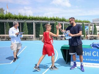 AraCamp il primo camp di basket con Pietro Aradori al Fantini Club 013