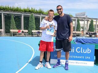 AraCamp il primo camp di basket con Pietro Aradori al Fantini Club 008