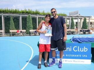 AraCamp il primo camp di basket con Pietro Aradori al Fantini Club 007