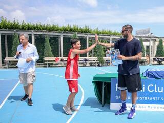 AraCamp il primo camp di basket con Pietro Aradori al Fantini Club 006