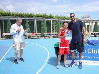 AraCamp il primo camp di basket con Pietro Aradori al Fantini Club 005