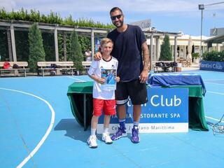 AraCamp il primo camp di basket con Pietro Aradori al Fantini Club 003
