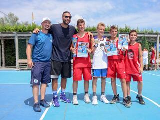 AraCamp il primo camp di basket con Pietro Aradori al Fantini Club 002
