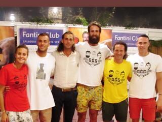 GGG con Datome, Paltrinieri e Tamberi al Fantini Club 024