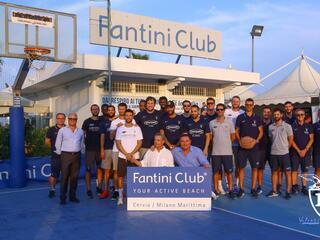 La Fortitudo Bologna al Fantini Club 001
