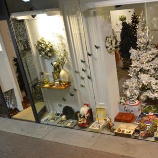 Una delle vetrine di Natale