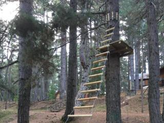 scala d'accesso a piramide